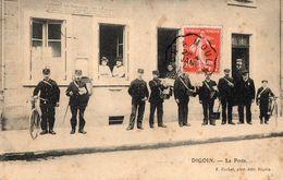 DIGOIN   -  La Poste  - Facteurs - Digoin