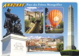 07 ANNONAY - MULTIVUES / MONUMENT FRERES MONTGOLFIER - Annonay