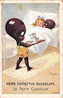 Illustration Comic Comique - Here Comes The Chocolate - Le Petit Chocolat - Illustrator Right - Right