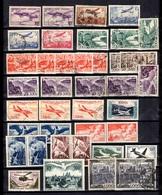 France Belle Collection De Poste Aérienne Neufs Et Oblitérés 1934/1959. Bonnes Valeurs. B/TB. A Saisir! - 1927-1959 Neufs