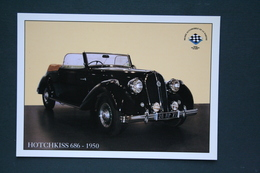 AUTOMOBILE HOTCHKISS 686    1950 - Voitures De Tourisme