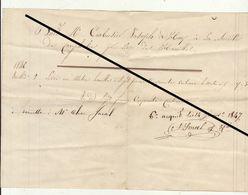 Facture De 1846 Huy Société De Corphalie - Belgium