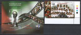 UAE 2013 MiNr. 1099(Block 80)  SOCCER  Sports 1v +1 S\SH MNH ** 4,00 € - Football