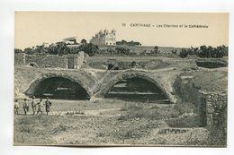 Carthage - Les Citernes Et La Cathedrale - Tunisia
