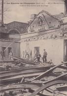51 / LES EMEUTES DE CHAMPAGNE AY 1911 MAISON AYALA INTERIEUR D'UN CELLIER APRES LE PILLAGE - Ay En Champagne