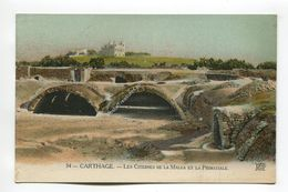 Carthage - Les Citernes De La Malga Et La Primatiale - Tunisia