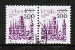 POLAND  Scott # 2939 VF USED PAIR - Used Stamps