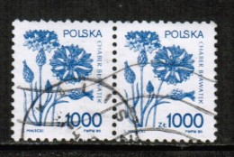 POLAND  Scott # 2921 VF USED PAIR - Used Stamps