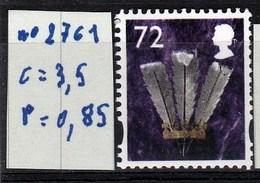 N°  2761** état Parfait - 1952-.... (Elizabeth II)