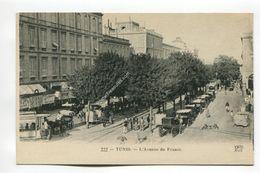 Tunis - L'Avenue De France - Tunisia
