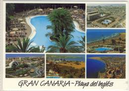 PLAYA DEL INGLÉS GRAN CANARIA DIVERSOS ASPECTOS - Gran Canaria
