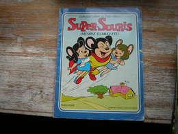 SUPER SOURIS AMUSONS L'AMULETTE ! N° 12  COLLECTION RIRE ET FOU RIRE  SAGEDITION 1981 - Books, Magazines, Comics