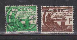 IRELAND Scott # 128-9 Used - Brother Michael O'Clery - 1949-... Republic Of Ireland