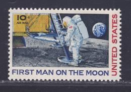 ETATS-UNIS AERIENS N°   73 ** MNH Neuf Sans Charnière, TB (D4916) Cosmos, 1er Homme Sur La Lune - 3b. 1961-... Neufs