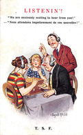 Illustration Comic Comique - Listening - Illustrator Donald Mc Gill - Mc Gill, Donald