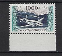 "FR Aerien YT 33 (PA) "" Prototype, Provence "" 1954 Neuf** BDF - 1927-1959 Mint/hinged"