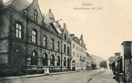 CPA - THANN (68) - Aspect De La Poste Et De La Rue Principale En 1910 - Thann