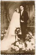 Huwend Koppel, Wedding Pair, Couple Mariage, Carte Photo, Fotokaart, Photocard (pk41731) - Marriages