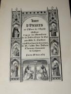 Livre D'Heures Ou Offices De L'Eglise Illustrés...  1843  Mlle A. GUILBERT - 1801-1900