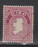 IRELAND Scott # 108 Used - Map Of Ireland - 1949-... Republic Of Ireland