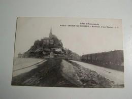 60    LE MONT ST MICHEL Arrivée Du Train - Le Mont Saint Michel