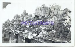 86160 PERU COSTUMES MARKET VEGETABLE FRUIT PHOTO NO POSTAL TYPE POSTCARD - Peru