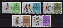 ETH 1 - ETHIOPIE N° 515/19 Neufs** J.O. 1968 - Ethiopia