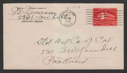 United States - Cover #18 Used - Brieven En Documenten