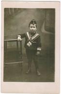 Portretfoto Van Kind, Portrait Little Boy, Carte Photo, Fotokaart, Photocard (pk41742) - Portraits