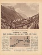 1950 : Document, HOUILLE BLANCHE, La Grave, Génissiat, Barrage Du Sautet, Le Galibier, Polignac; St-Etienne-Cantalès... - Documentos Antiguos