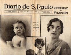 DIARIO  De SAO  PAULO -  Supplemento  De  Rotogravura - 24 De Janeiro De 1929  (en Portuguais) - Livres, BD, Revues