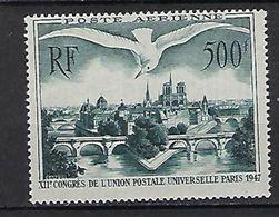 "FR Aerien YT 20 (PA) "" Congrès U.P.U. à Paris "" 1947 Neuf** - 1927-1959 Mint/hinged"