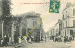 93. BAGNOLET . Avenue Du Centenaire . CPA Animée . - Bagnolet