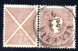 1859 ITALIA LOMBARDO VENETO SOLDI 10  CON CROCE DI S. ANDREA ANNULLO DI VENEZIA (SI VENDE TEL QUEL) - Lombardy-Venetia