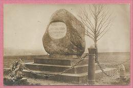 57 - GRAVELOTTE - Carte Photo - Foto - Denkmal - Monument Koenig Wilhelm - Guerre 1870 - Sin Clasificación