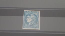 LOT 385105 TIMBRE DE FRANCE OBLITERE N°46B VALEUR 25 EUROS - 1870 Bordeaux Printing