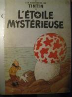 "CASTERMAN Livre D'occasion TINTIN L'Etoile Mystérieuse Année 1947 ""photos Recto Verso"" - Tintin"