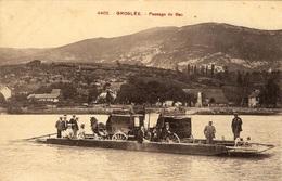 4402 GROSLÉE  - PASSAGE DU BAC - France