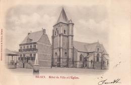 Bilzen Bilsen Hôtel De Ville Et L'Eglise ( Kiosk ) - Bilzen