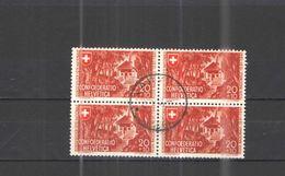 Svizzera 1941 Festa Nat.Block Da 4 Scott.B111 See Scans - Pro Patria