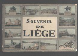 Liège - Souvenir De Liège - 1909 - Ed. Grand Bazar De La Place Saint-Lambert - Liege