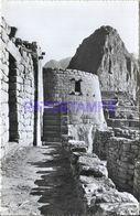 86167 PERU MACHUPICCHU TORREON MILITAR Y EL HUAINAPICCHU 63048 POSTAL POSTCARD - Peru