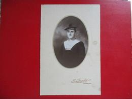 PHOTO MARIN JEUNE HOMME PHOTO DE G. INGOLD 50 CHERBOURG - Krieg, Militär