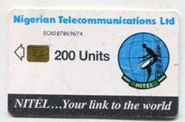 TK 31886 NIGERIA - Chip 200 Units - Nigeria