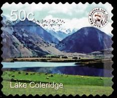 NEW ZEALAND - YW1484 Lake Coleridge 'Fastway' / Used Stamp - Nuova Zelanda