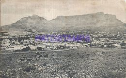 86173 SOUTH AFRICA CAPE TOWN DEVIL`S PEAK AND TABLE MOUNTAIN POSTAL POSTCARD - Cap Vert