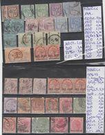 TIMBRES DE MAURICE   EN LOT OBLITEREES *   Nr VOIR SUR PAPIER AVEC LES TIMBRES  COTE  118.50€ - Maurice (1968-...)