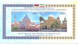 2017. Armenia, Religious Buildings, Armenia-Iran Joint Issue, S/s, Mint/** - Arménie
