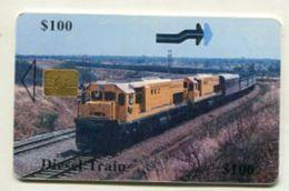 TK 31900 ZIMBABWE - Chip Train - Zimbabwe