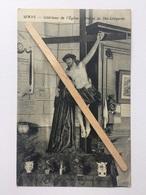 WAYS «Intérieur De L'Église - Statue De ST - LUTGARDE «Autographe Du Curé De L'époque G.LAMBERT (1922)Édit Lutte.Henri. - Genappe